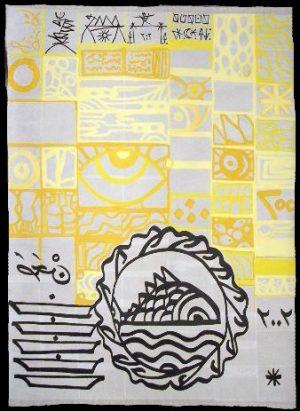 Sisyphe heureux tapis la vessaille